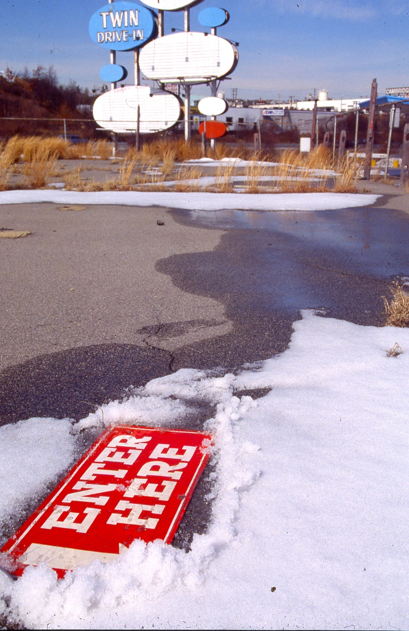 Abandoned Drive-InBraintree, Massachusetts