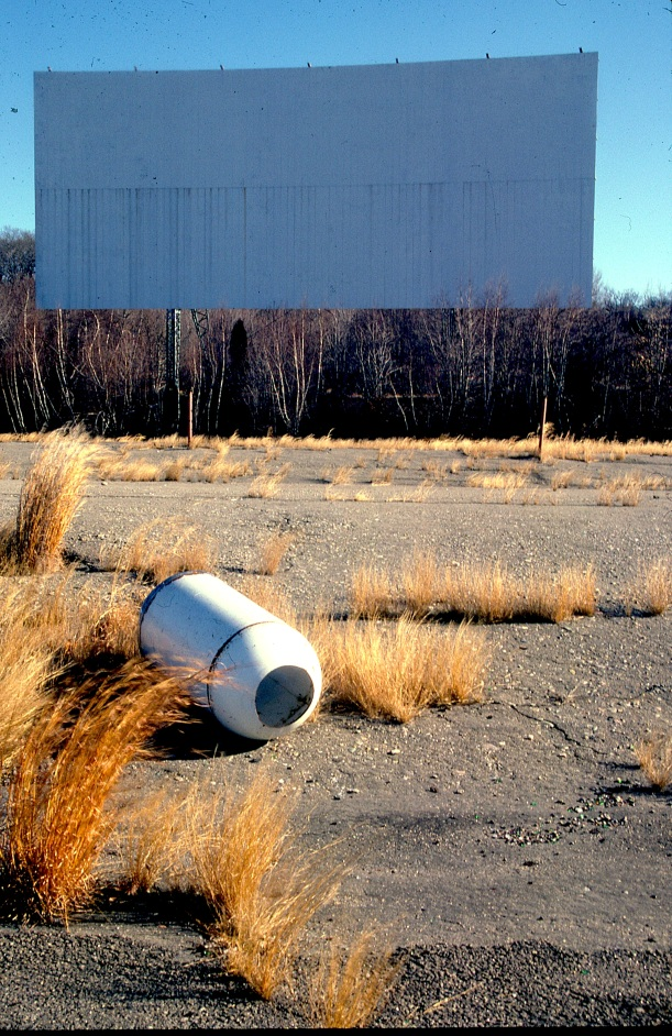 Abandoned Drive-In, Braintree, Massachusetts.