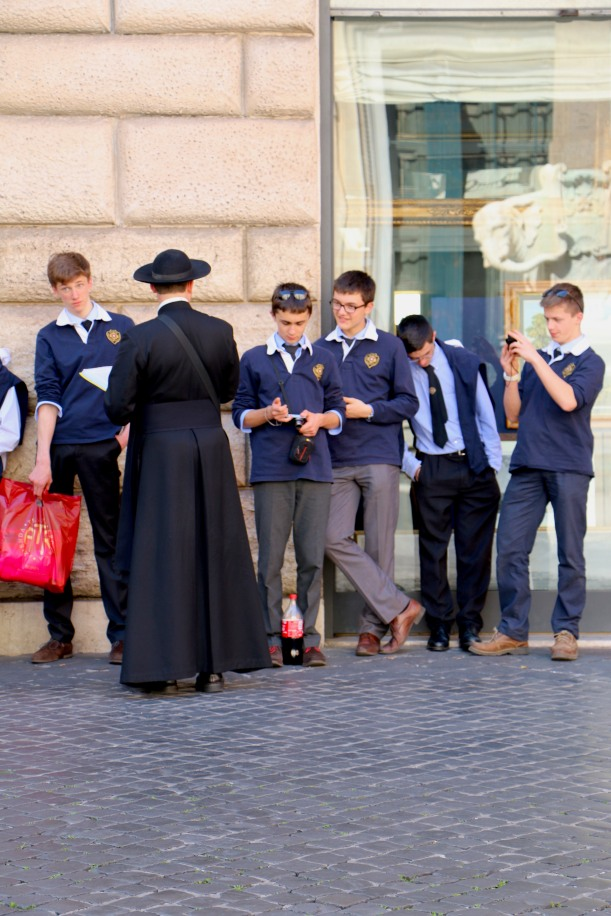 Cassock and Boys